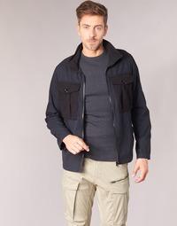 Kleidung Herren Jacken G-Star Raw TYPE C UTILITY PM OVERSHIRT Schwarz