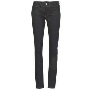 Abbigliamento Donna Jeans skynny G-Star Raw LYNN MID SKINNY Blu / Nero