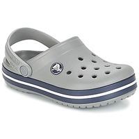 Schuhe Kinder Pantoletten / Clogs Crocs CROCBAND CLOG K Grau / Marineblau