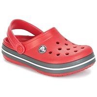 Schuhe Kinder Pantoletten / Clogs Crocs CROCBAND CLOG KIDS Rot