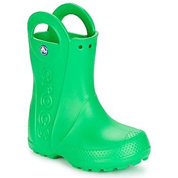 Schuhe Kinder Gummistiefel Crocs HANDLE IT RAIN BOOT KIDS Grün