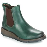 Schuhe Damen Boots Fly London SALV Patinabraun / Green