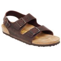Schuhe Herren Sandalen / Sandaletten Birkenstock MILANO Braun