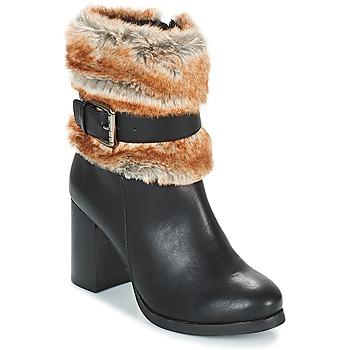 Schuhe Damen Low Boots Les Petites Bombes JESSY Schwarz