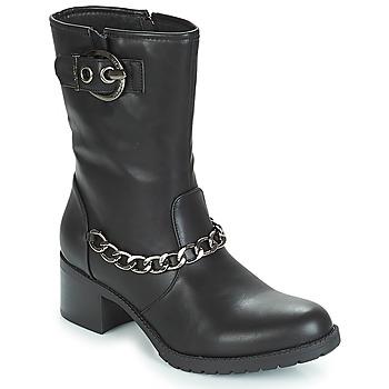 Schuhe Damen Low Boots Les Petites Bombes LOANNE Schwarz