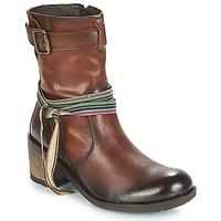 Schuhe Damen Low Boots Felmini URRACO Braun,