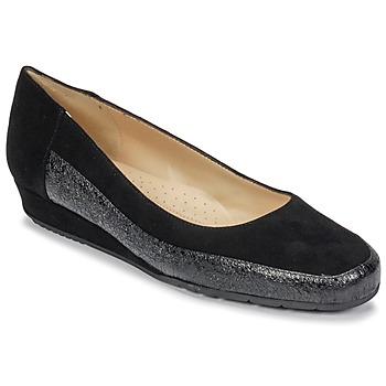 Schuhe Damen Ballerinas Perlato TRASA Ferrer / Schwarz