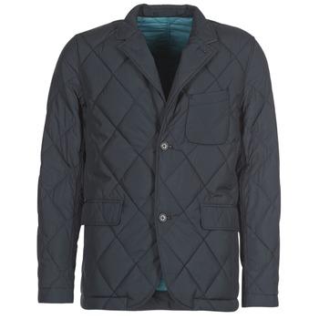 Kleidung Herren Jacken Vicomte A. ODIN QUILTED BLAZER Marineblau