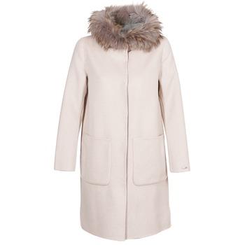 Abbigliamento Donna Cappotti Oakwood YALE BI Beige / Grigio