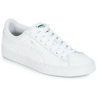Scarpe Sneakers basse Puma BASKET CLASSIC LFS.WHT Bianco