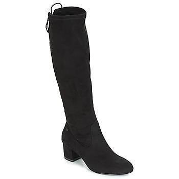 Schuhe Damen Klassische Stiefel Tamaris PEDAS Schwarz