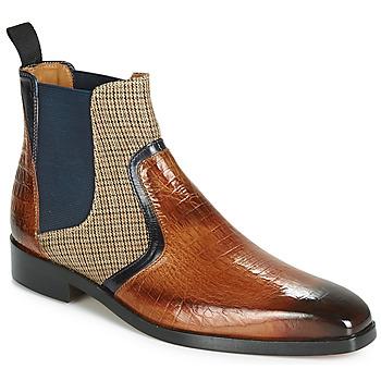 Chaussures Homme Boots Melvin & Hamilton LEWIS 26 Marron / Marine