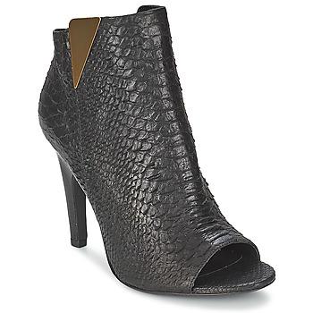 Chaussures Femme Bottines Vic CARVI Noir