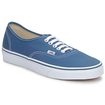 Chaussures Baskets basses Vans AUTHENTIC Bleu