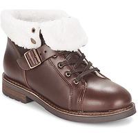 Schuhe Damen Boots PLDM by Palladium BOCK CLN Braun