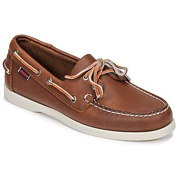 Schuhe Herren Bootsschuhe Sebago DOCKSIDES FGL Braun,