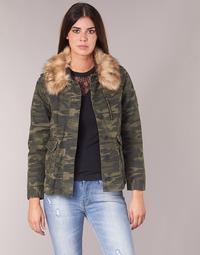 Abbigliamento Donna Giubbotti Ikks REFLEKTION Verde