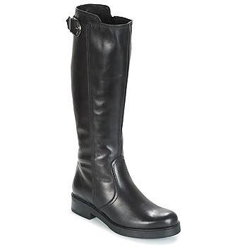 Chaussures Femme Bottes ville Samoa DOLCU Noir