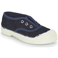 Schuhe Kinder Sneaker Low Bensimon TENNIS ELLY CORDUROY Marineblau