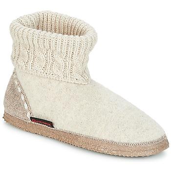 Schuhe Damen Hausschuhe Giesswein FREIBURG Beige