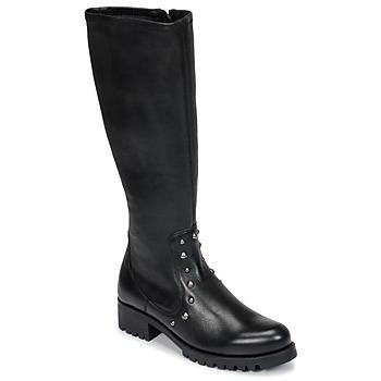 Chaussures Femme Bottes ville Unisa IKERI NOIR