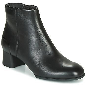 Schuhe Damen Low Boots Camper KATIE Schwarz