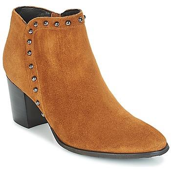 Schuhe Damen Low Boots Myma POUTZ Camel
