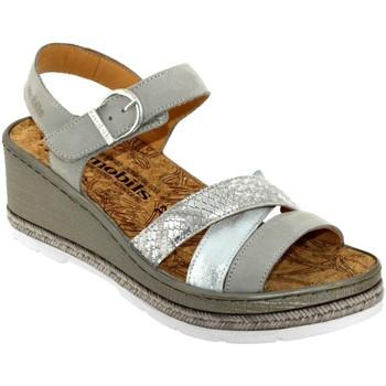 Chaussures Femme Sandales et Nu-pieds Mobils By Mephisto Benita Gris cuir