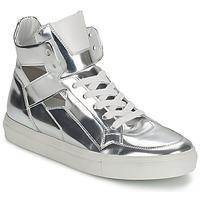 Scarpe Donna Sneakers alte Kennel + Schmenger TONIA Argento