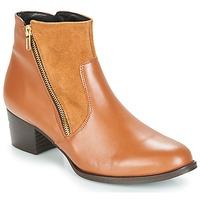 Chaussures Femme Bottines So Size JOCASSU Camel