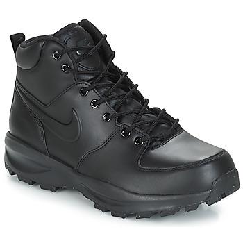 Scarpe Uomo Sneakers alte Nike MANOA LEATHER BOOT Nero