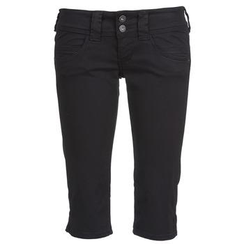 Kleidung Damen 3/4 Hosen & 7/8 Hosen Pepe jeans VENUS CROP Schwarz