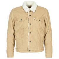 Vêtements Homme Vestes en jean Levi's TYPE 3 SHERPA TRUCKER Beige