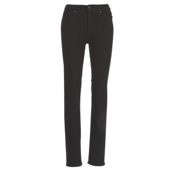 Abbigliamento Donna Jeans dritti Levi's 724 HIGH RISE STRAIGHT Black