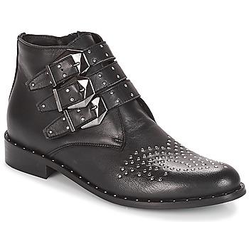 Schuhe Damen Boots Sweet Lemon ELUCY Schwarz