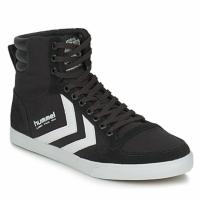 Schuhe Sneaker High Hummel TEN STAR HIGH CANVAS Weiß