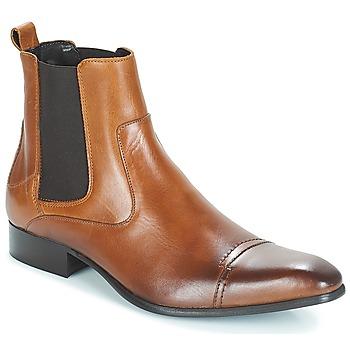 Chaussures Homme Boots Carlington ERINZI Cognac