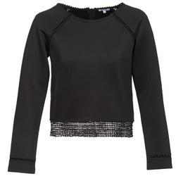 Kleidung Damen Sweatshirts Brigitte Bardot AMELIE Schwarz