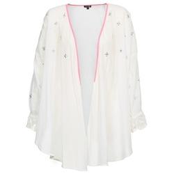 Kleidung Damen Strickjacken Brigitte Bardot APOLLINE Weiß