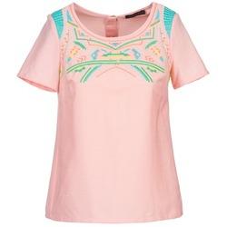 Vêtements Femme Tops / Blouses Color Block ADRIANA Rose