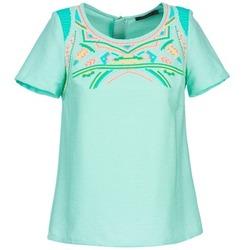 Vêtements Femme Tops / Blouses Color Block ADRIANA Bleu