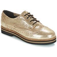 Chaussures Femme Derbies Coolway AVO Doré / Noir