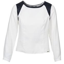 Abbigliamento Donna Top / Blusa La City LAETITIA Ecru / Nero