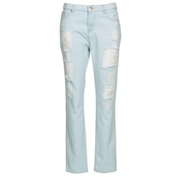 Vêtements Femme Jeans droit Cimarron BOY Bleu Clair