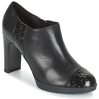 Schuhe Damen Ankle Boots Geox D ANNYA HIGH Schwarz