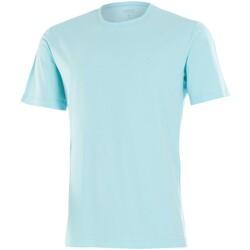 Vêtements Homme T-shirts manches courtes Impetus T-shirt homme col rond manches courtes vert d'eau Bleu