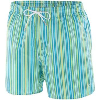 Vêtements Homme Shorts / Bermudas Impetus Maillot de bain rayé homme Nil bleu jaune Bleu