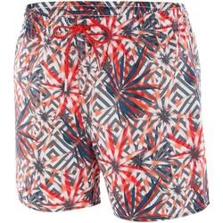 Vêtements Homme Maillots / Shorts de bain Impetus Maillot de bain imprimé homme Isthmus rouge Rouge
