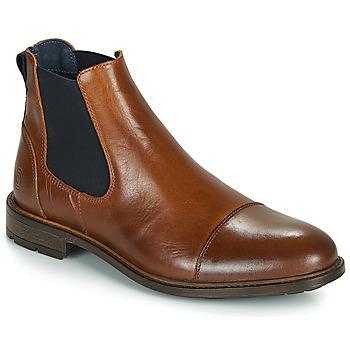 Schuhe Herren Boots Casual Attitude JANDY Cognac / Marine