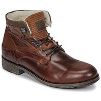 Schuhe Herren Boots Casual Attitude JOPA Braun,